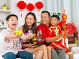 Chinese New Year is all about the family